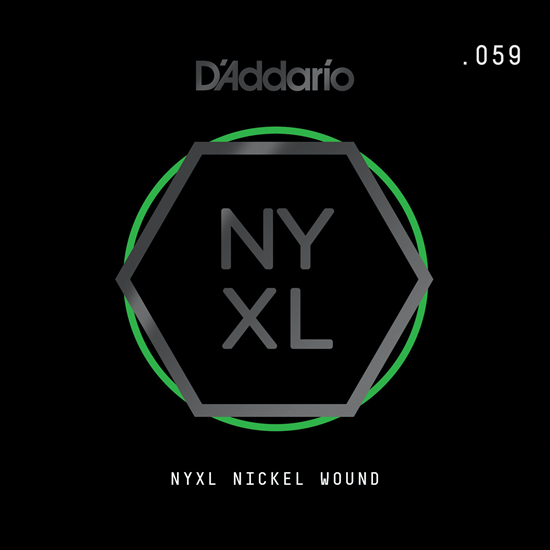 D'Addario NYNW059 NYXL Nickel Wound
