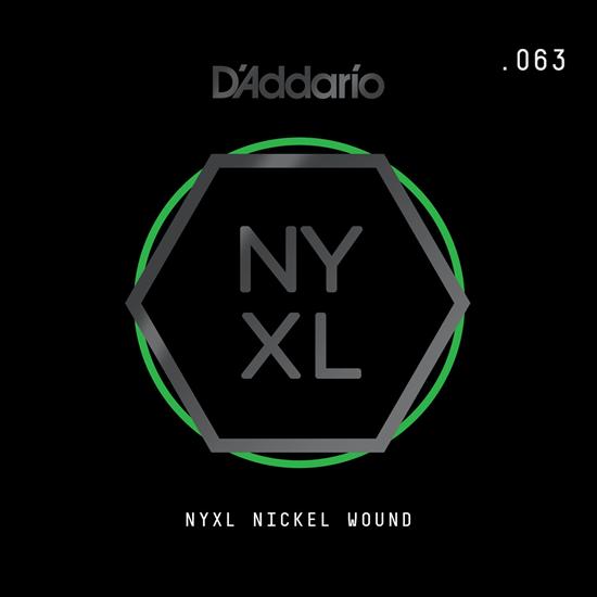 D'Addario NYNW063 NYXL Nickel Wound