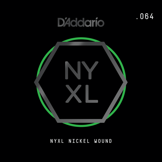D'Addario NYNW064 NYXL Nickel Wound