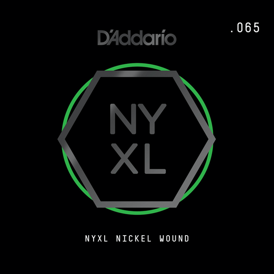 D'Addario NYNW065 NYXL Nickel Wound