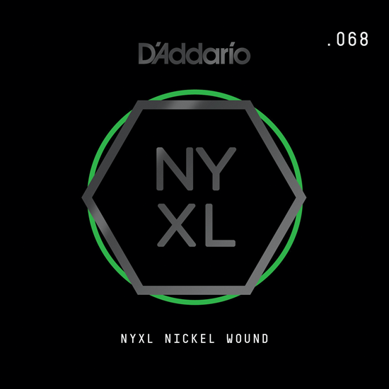 D'Addario NYNW068 NYXL Nickel Wound