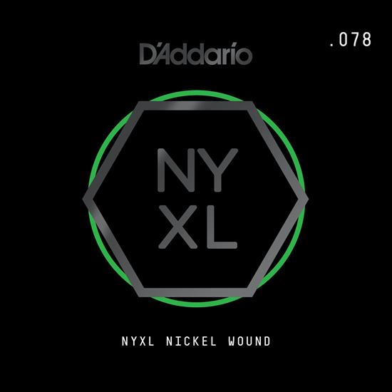 D'Addario NYNW078 NYXL Nickel Wound