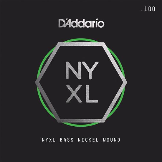 D'Addario NYXLB100SL NYXL Single Nickel Wound Super Long Scale