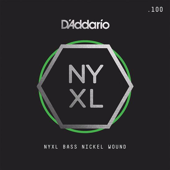 D'Addario NYXLB100TSL NYXL Single Nickel Wound Super Long Scale Tapered