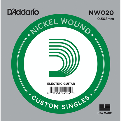 D'Addario NW020 Nickel Wound