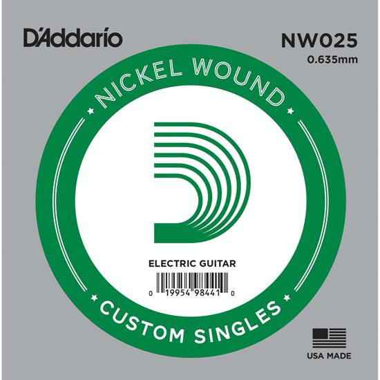 D'Addario NW025 Nickel Wound