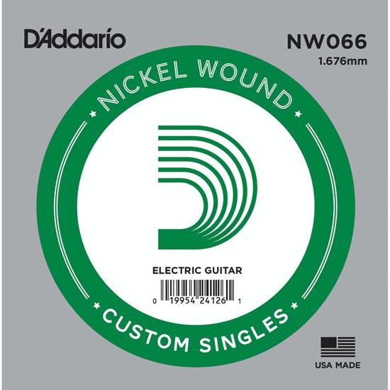D'Addario NW066 Nickel Wound