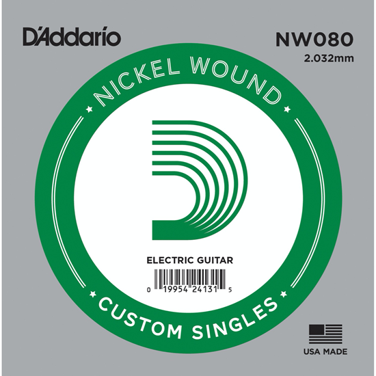 D'Addario NW080 Nickel Wound