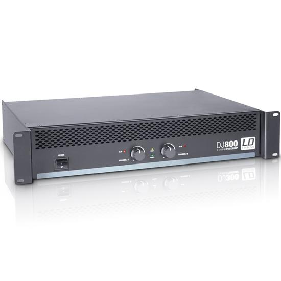 LD Systems DJ 800 PA Power Amplifier