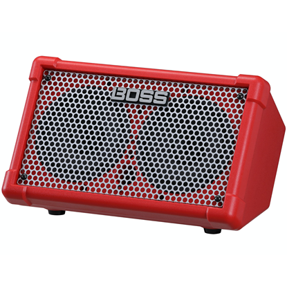 BOSS Cube Street Red 2 Battery-Powered Stereo Amplifier