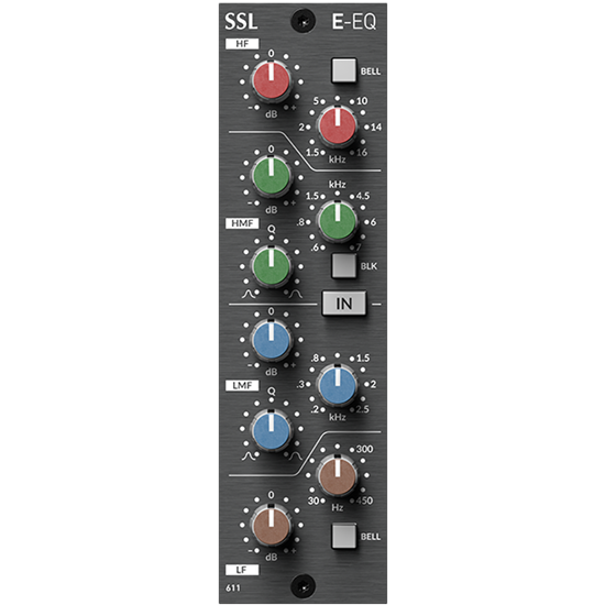 SSL E-Series EQ Module