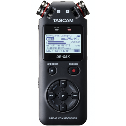 Tascam DR-05X Stereo Handheld Audio Recorder