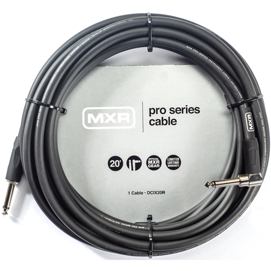 MXR 20ft Pro Instrument Cable Right/Straight